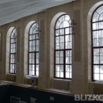 Арочные деревянные окна с раскладкой okna-fresh.ru