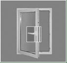 Фурнитура SIEGENIA - положение окно открыто в деревянных окнах okna-fresh.ru