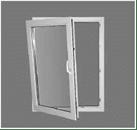 Фурнитура SIEGENIA - окно повисло на одной петле в деревянных окнах okna-fresh.ru