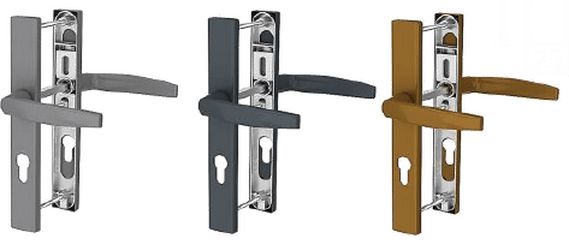 Дверные нажимные гарнитуры (ручки) Roto