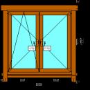 Чистовая обсада для деревянных окон - стоимость окна в обсаде okna-fresh.ru