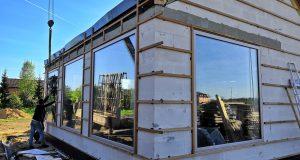 Деревянные окна с каленым стеклом 8 мм, площадь окна 4 м2 okna-fresh.ru