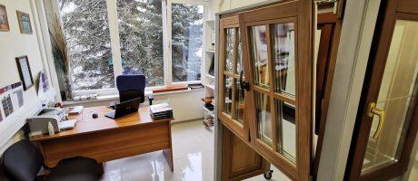 Деревянные окна - офис okna-fresh.ru